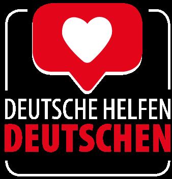 Deutsche helfen Deutschen Logo